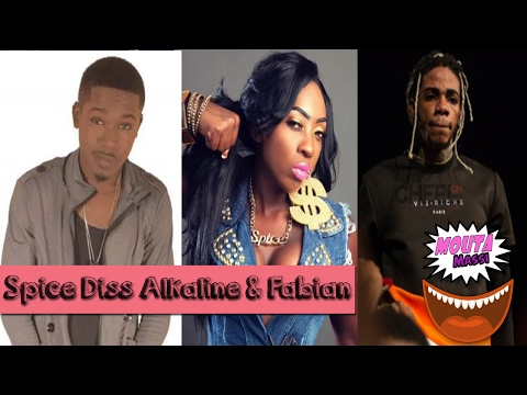 Spice FIRES SHOT at Alkaline & Fabian in New Song Who Sing It! |