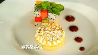 Chef's Table - Pamela Bowie Dan Sonny Septian - Lemon Meringue Pie & Rubic Fruit