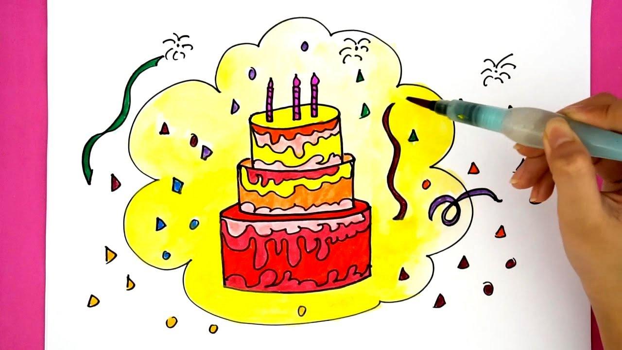 Крутые рисунки карандашом на день рождения, скрап открытках открытка