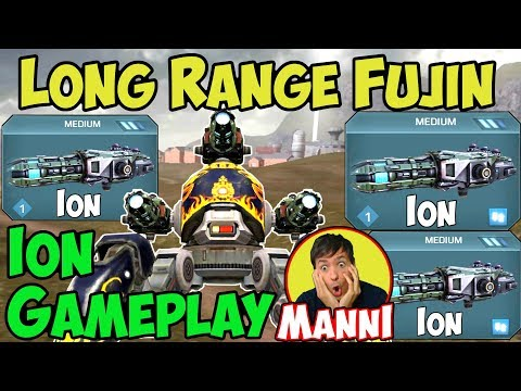 War Robots New Ion (Medium Zeus) Fujin Sniper Gameplay - WR