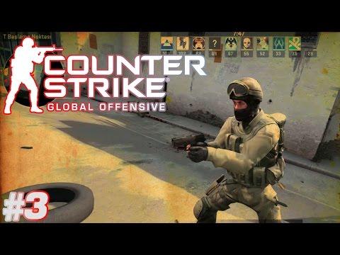 Kafalama girdik I CS:GO Deathmatch I 3. Bölüm
