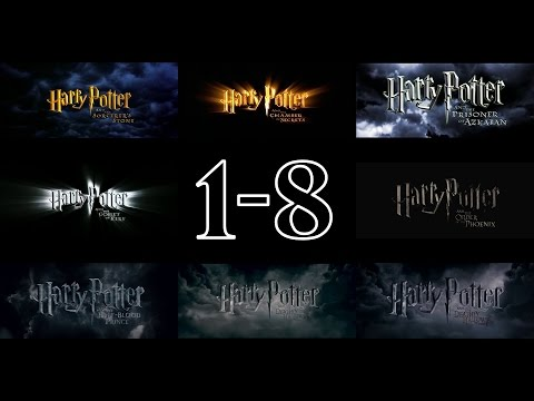 Harry Potter - Trailers (1-8) [HD]