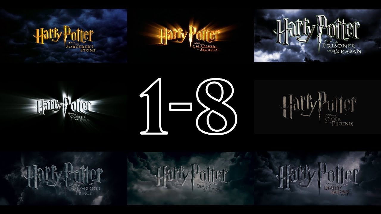 harry potter trailers 1 8 hd youtube. Black Bedroom Furniture Sets. Home Design Ideas