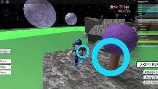 Roblox Speed exécuter 4 dimension lune (la fin)