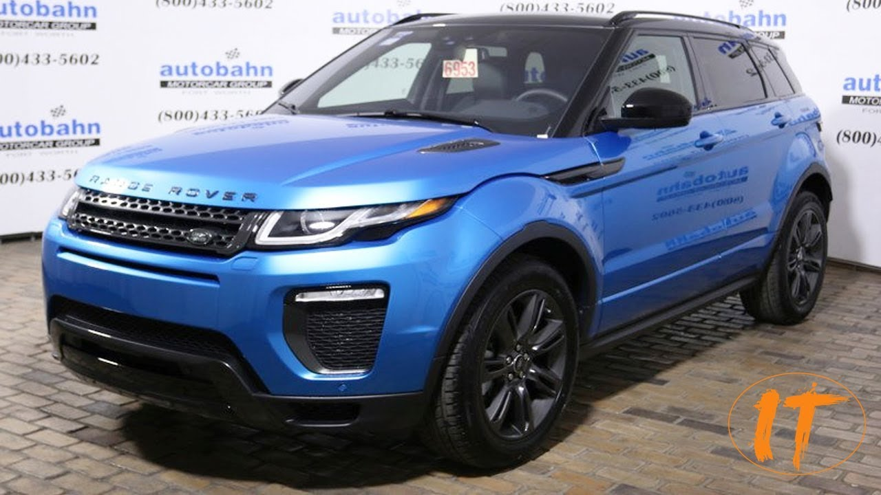 2018 Range Rover Evoque Landmark Edition Youtube