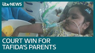 Parents who want to take critically ill Tafida to Italy win court bid for life support | ITV News
