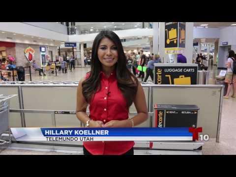 Cambios de rutas en aeropuerto internacional SLC