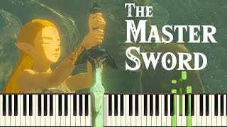 The Master Sword - Breath of the Wild (Memory #18) [Piano Synthesia Tutorial]