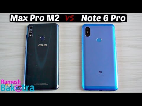 Zenfone Max Pro M2 vs Redmi Note 6 Pro Speed and Camera Comparison