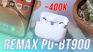 Tai nghe Bluetooth True Wireless Remax PD-BT900 Phiên Bản Giá Rẻ của Apple Airpod Pro