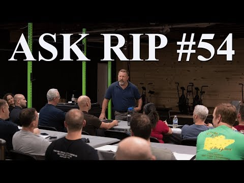Why the doctor tells you not to lift weights | Ask Rip #54