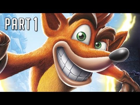 CRASH BANDICOOT N SANE TRILOGY Walkthrough Gameplay Part 1 - Coco (PS4 Pro)