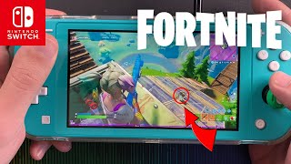 Fortnite on the Nintendo Switch Lite #82