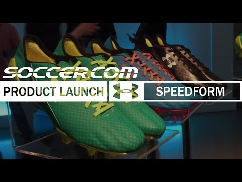 Under Armour And Memphis Depay Launch Speedform Cleat Youtube