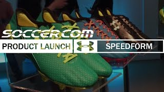 Under Armour and Memphis Depay launch SpeedForm cleat