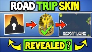 What is the Fortnite Road Trip Skin SEASON 5? STORY LINE INTRO! Accidentally Hint ROAD TRIP SKIN?
