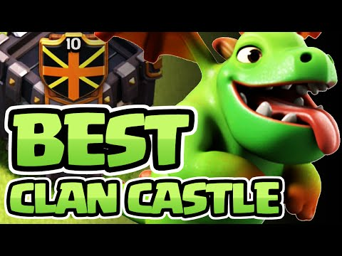 BEST DEFENSIVE CLAN CASTLE IN CLASH OF CLANS