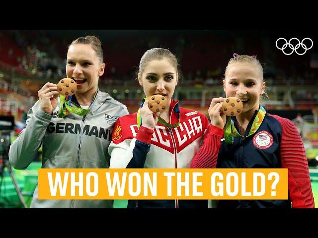 FULL Women's Uneven Bars Final @Rio 2016!