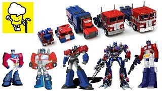 Different Optimus Prime Transformer robot truck toys   robots in disguise