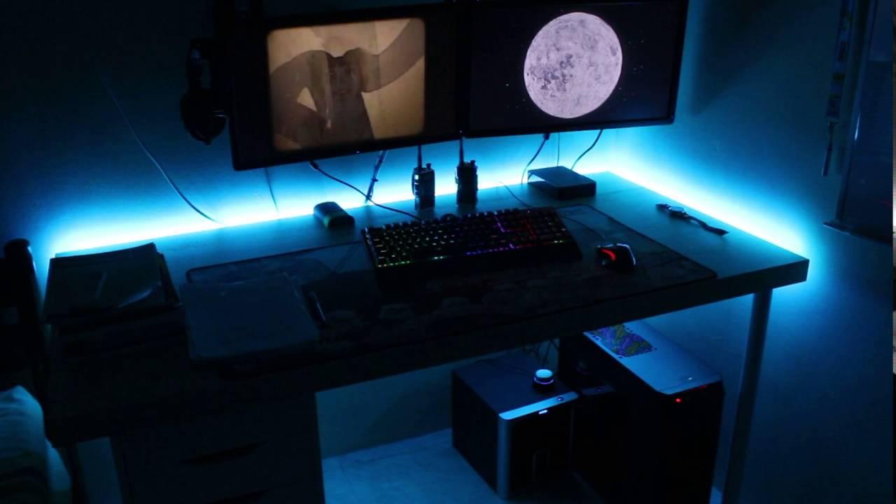 New Desk Rgb Led Strips Featuring An Aula Gateron Rgb