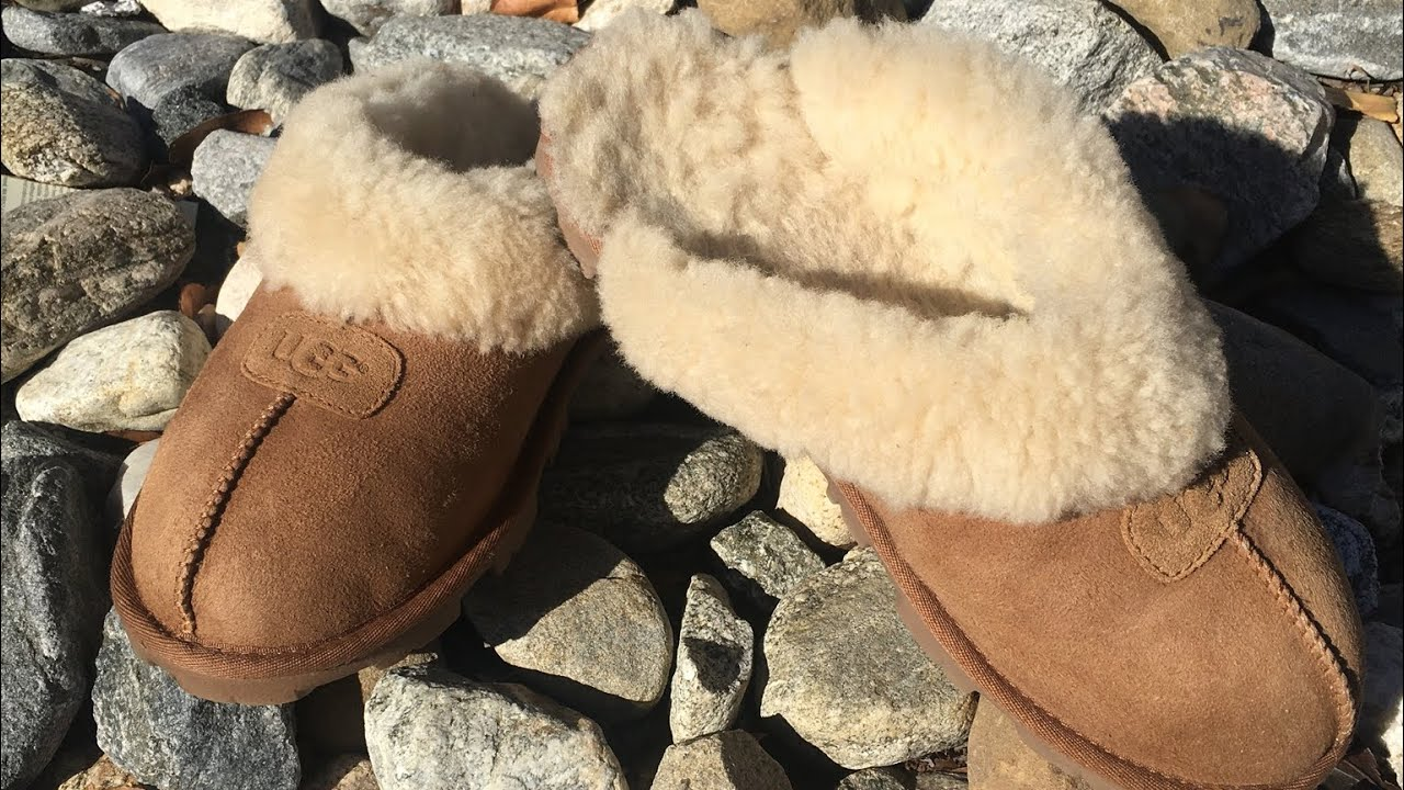 DIY How to Clean your UGGS on the cheap Video #27 Women's Coquette Slippers