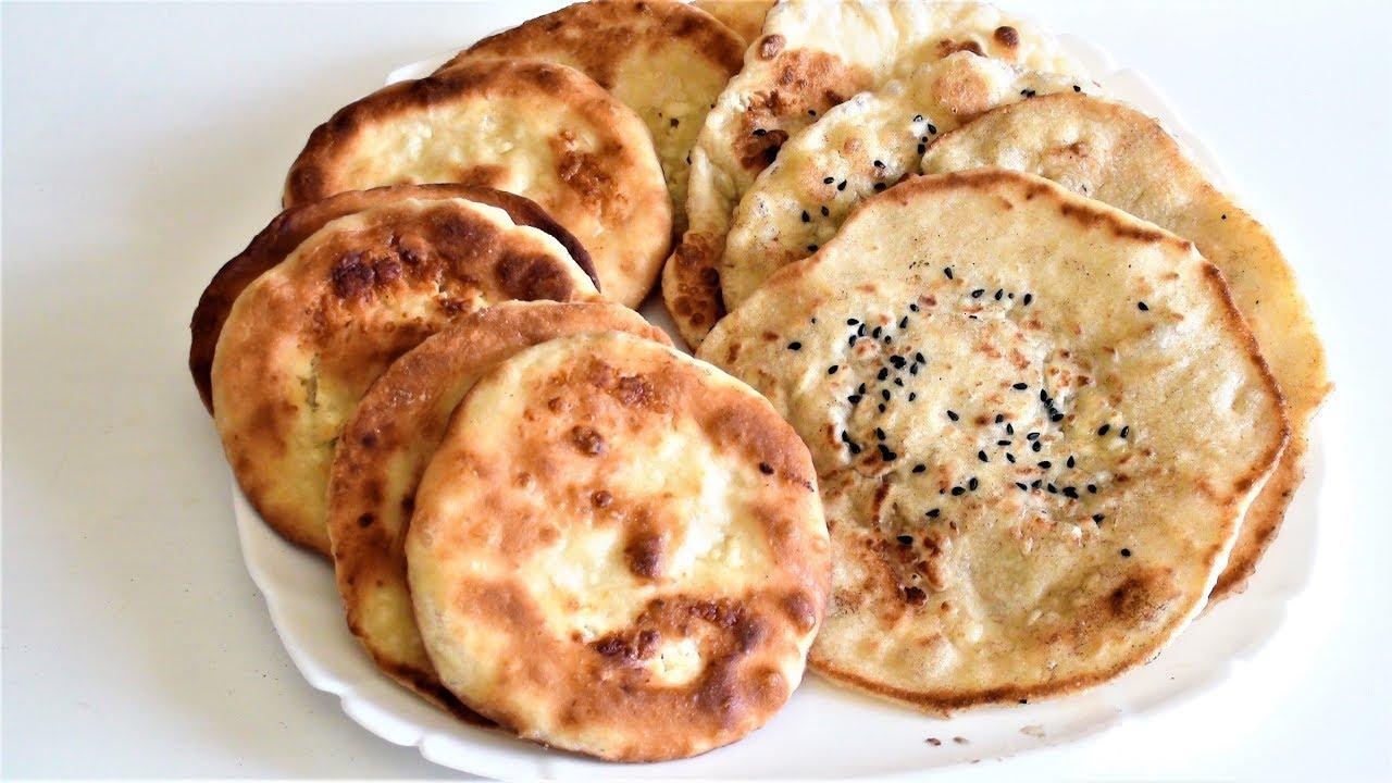 Лепешки с сыром.Самые быстрые, вкусные и сытные. Как приготовить сырные лепешки.
