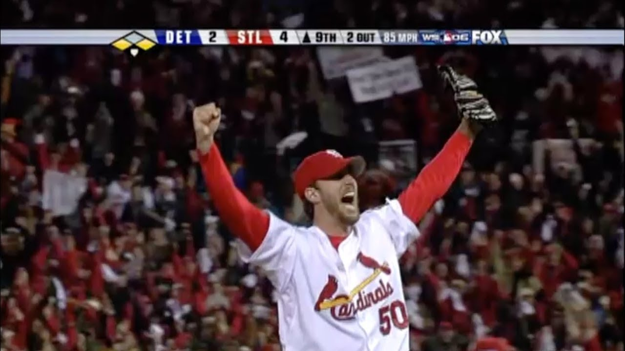 2006 World Series Tigers Cardinals Game Five Cards Win First Since 1982