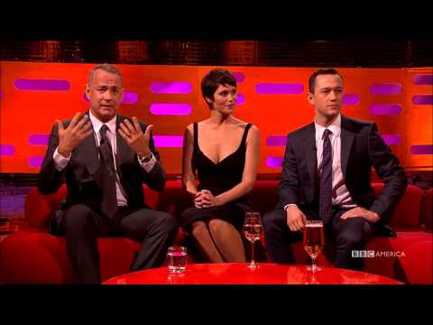Tom Hanks, Gemma Arterton, and Joseph GordonLevitt  Us Their Bad Side  The Graham Norton