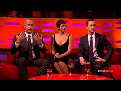 Tom Hanks, Gemma Arterton, and Joseph GordonLevitt  Us Their Bad Side  The Graham Norton