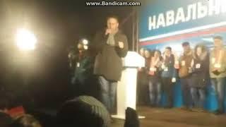 Единороссы освистывают Навального в Нижнем Новгороде