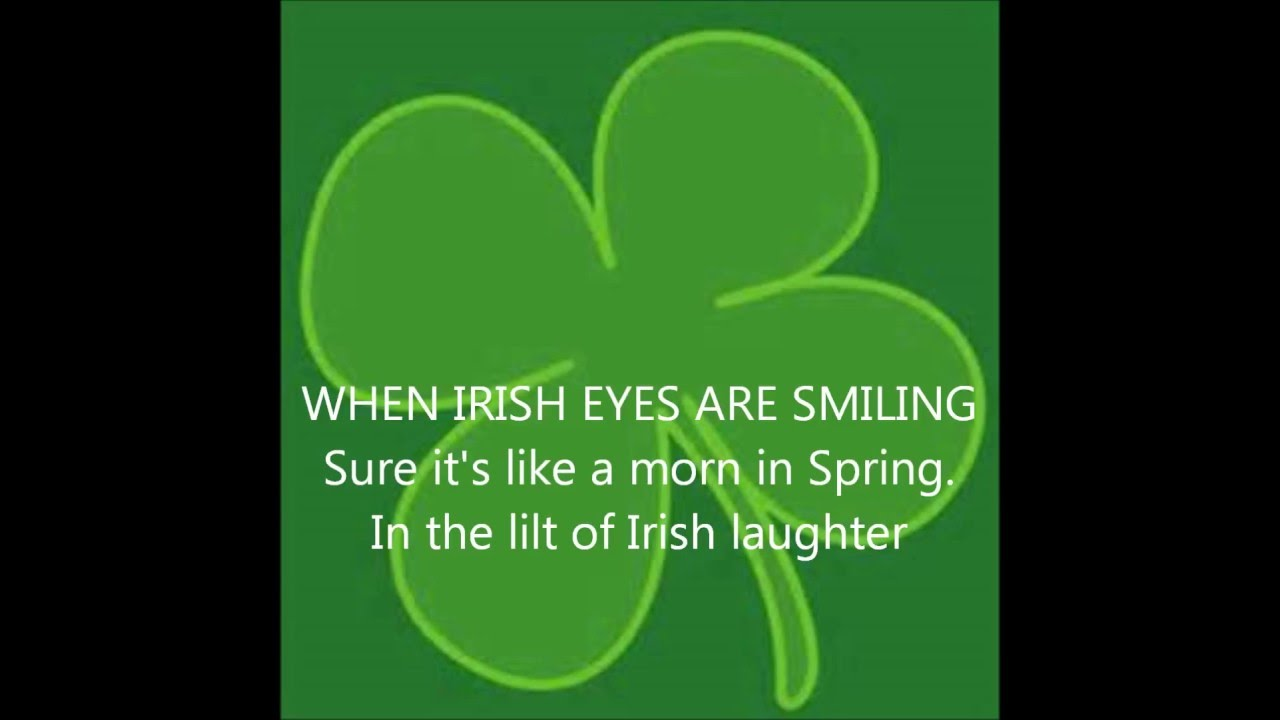 Afbeeldingsresultaat voor when irish eyes are smiling gif