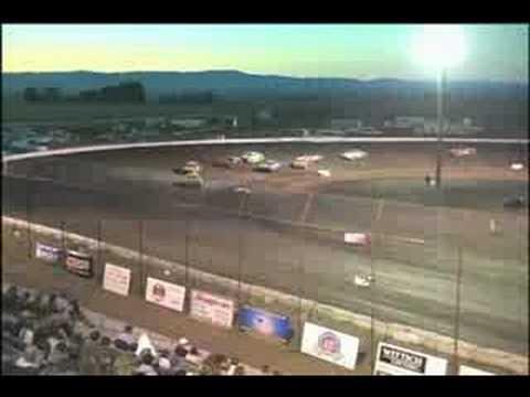 Dirt Track Street Stock Race 8.15.08 Gallatin Speedway, Belgrade Montana