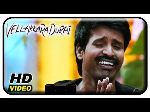 Vellaikaara Durai Movie Scenes | Soori wears an original bomb jacket | Vikram Prabhu | Sri Divya