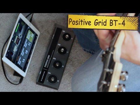 Positive Grid BT-4 Wireless Bluetooth Controller Review