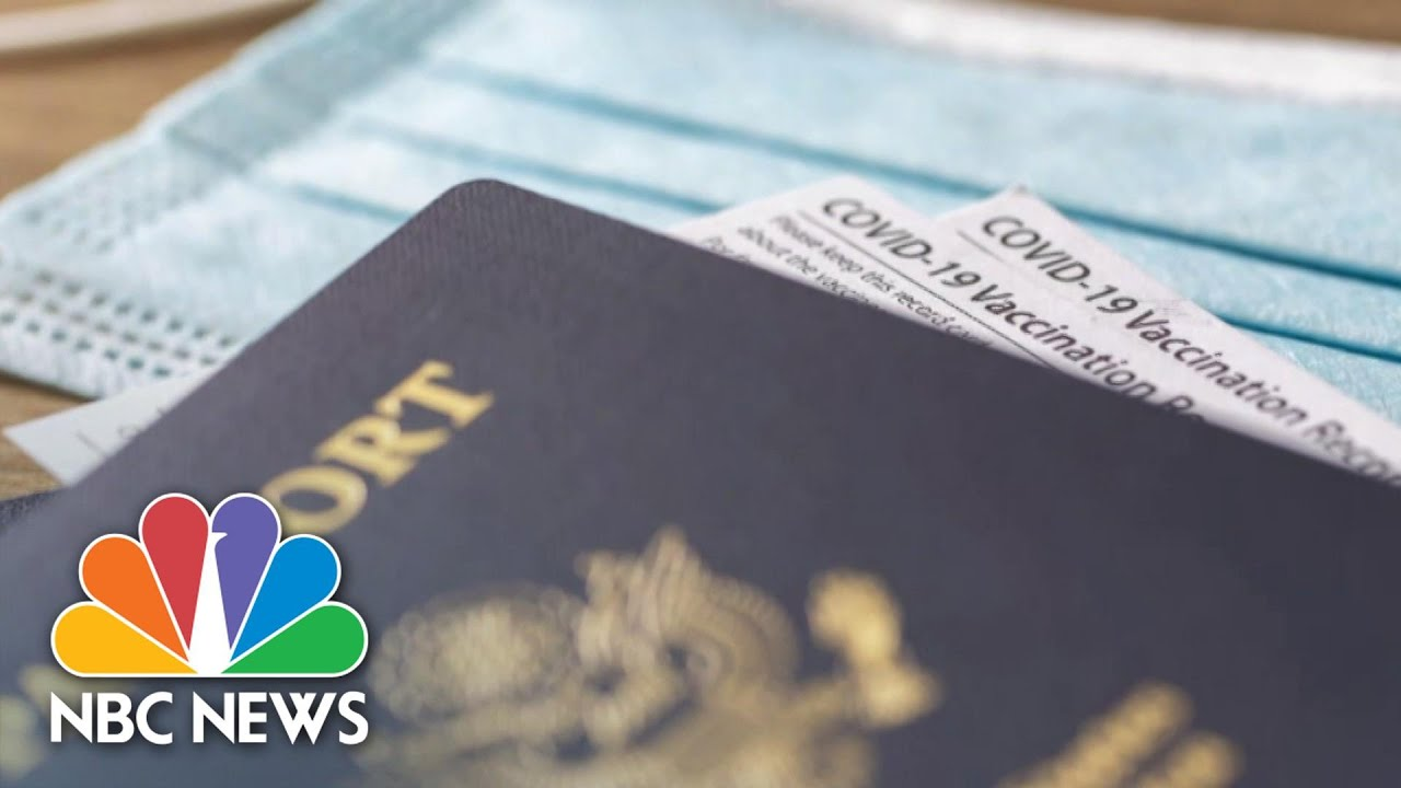 Will Americans Need 'Vaccine Passports' For Travel And More? | NBC Nightly News