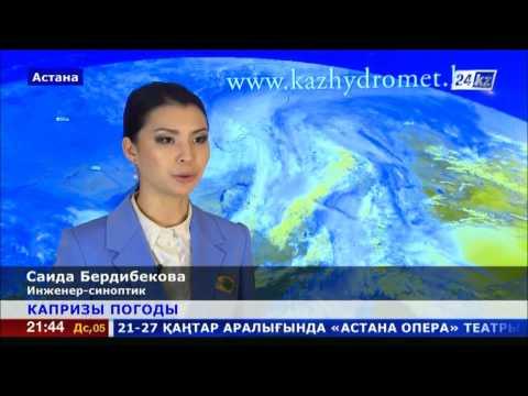 Казахстан: прогноз погоды