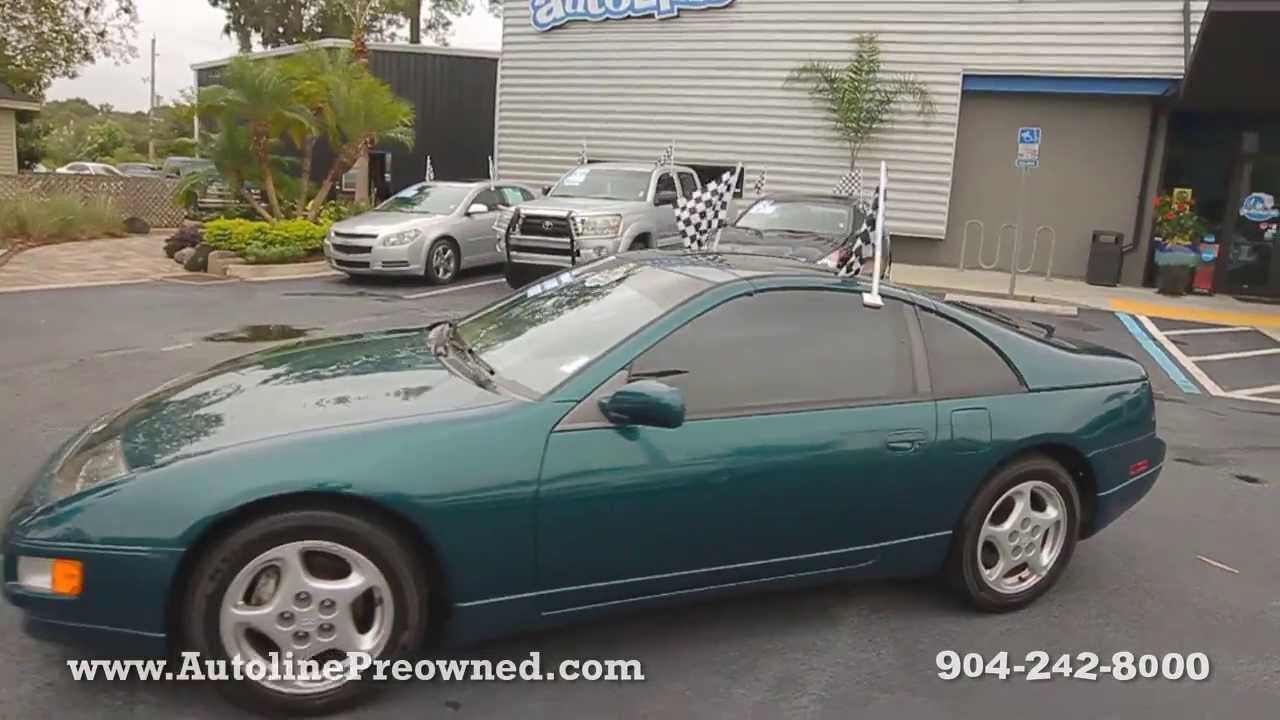 Autoline preowned 1996 nissan 300zx for sale used walk around review jacksonville