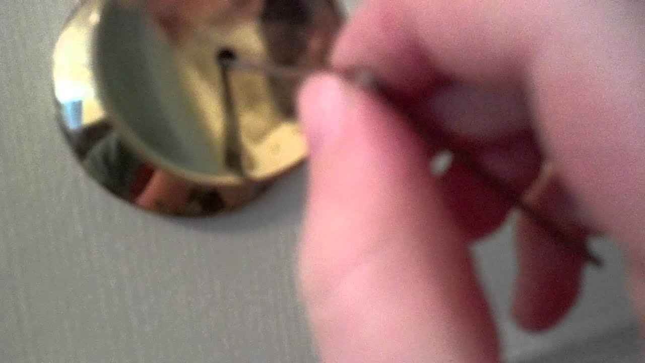 Captivating How To Unlock A Door With A Bobby Pin