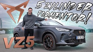 CUPRA FORMENTOR VZ5 | Finally we have the 5-cylinder | Daniel Abt