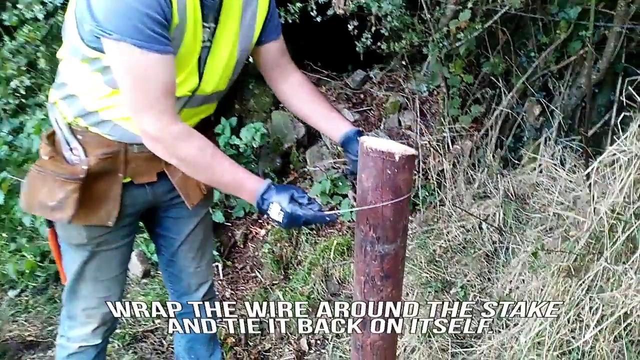 medium resolution of farmer know how erect single strand electric fencing