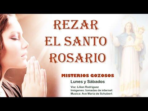 Rezar el Santo Rosario - Misterios Gozosos - Lunes y Sábados