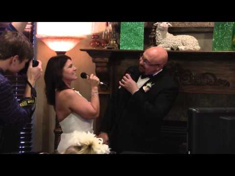 """Marc and Dianne's Wedding Karaoke to """"I Got You Babe"""""""