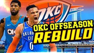 STAYING TOGETHER! OKC THUNDER OFF-SEASON REBUILD! NBA 2K20