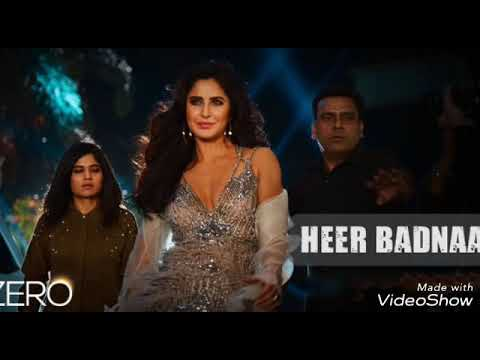 Zero | Heer Badnaam Full Audio Song | Katrina Kaif | Shah Rukh Khan | Anushka Sharma
