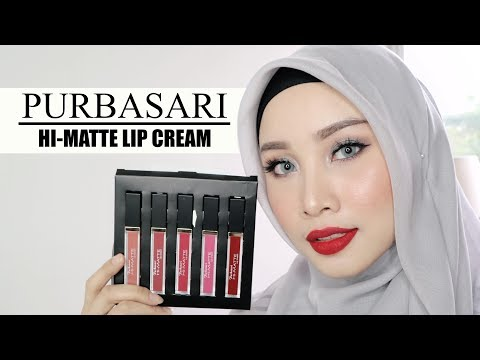 purbasari-lip-cream-matte-swatches-and-review