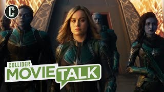 Captain Marvel Trailer Further Reveals Brie Larson's Powerful Superhero - Movie Talk