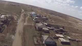 История села Рождественка, съёмки с воздуха - версия без логотипа