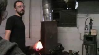 Adam's Blacksmith Project 1: a coat hook