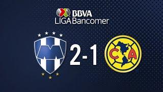 Monterrey vs América 2-1 Jornada 16 Apertura 2015 Liga Bancomer MX - 07 de Noviembre 2015