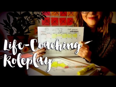 ASMR Life Coach Consultation Roleplay 📋